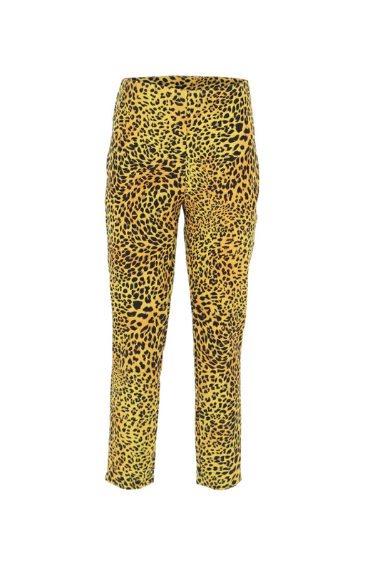 SKINNY TROUSERS WITH ANIMAL PRINT