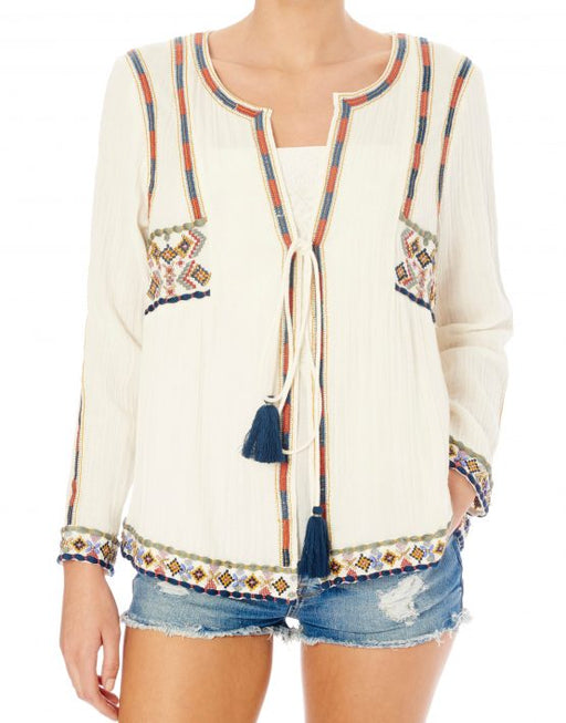 ANOUK EMBROIDERED MULTICOLOR JACKET