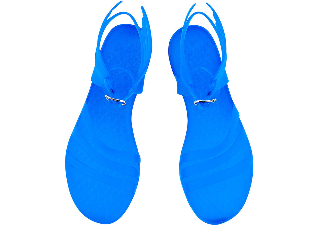 IKARIA CLEAR BLUE SANDALS - justBrazil store