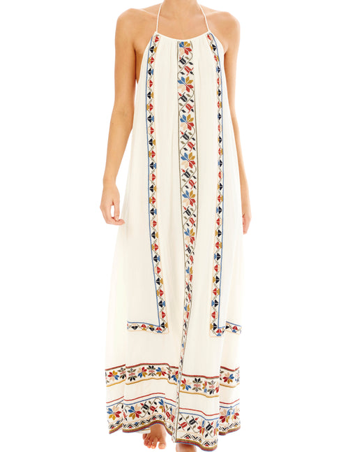 JONI EMBROIDERED MAXI DRESS - justBrazil store