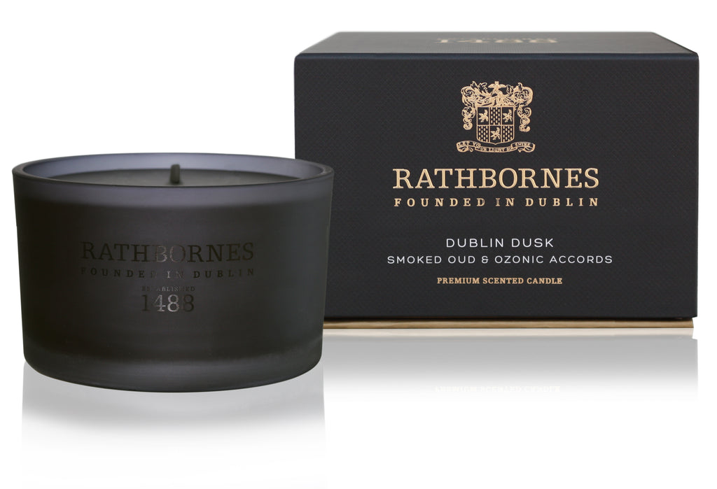 Rathbornes / Beyond The Pale  DUBLIN DUSK SCENTED TRAVEL CANDLE