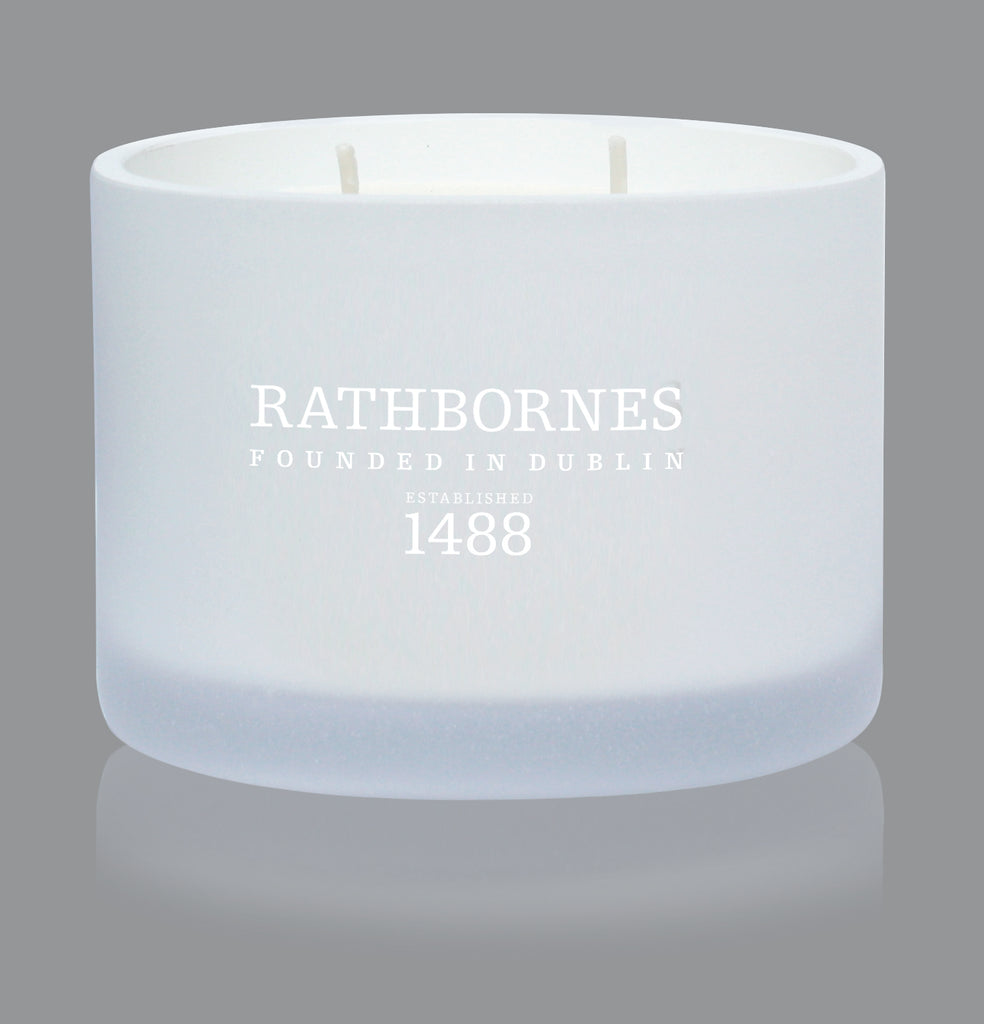 IRISH ROCK ROSE, RASPBERRY & DAVANA SCENTED CLASSIC CANDLE
