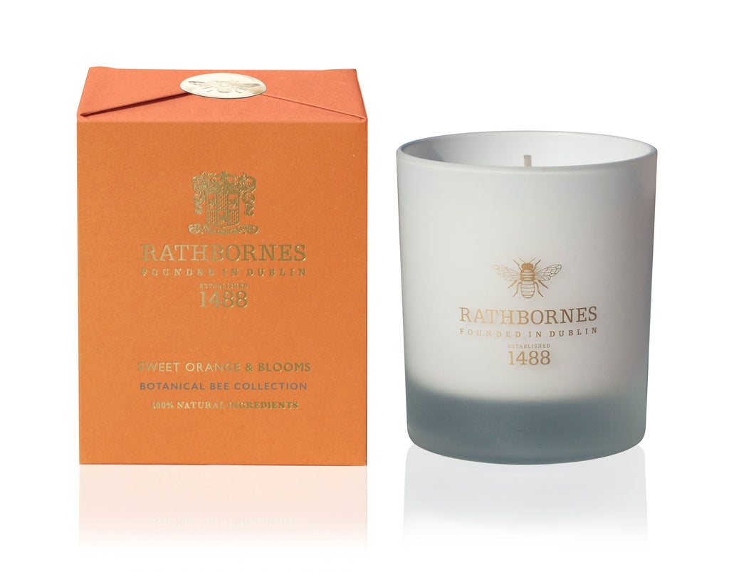 Sweet Orange & Blooms Candle