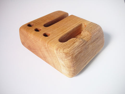 Hardwood Desk Organizer - Small