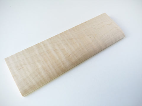Plain Hardwood Maple Wrist Rest