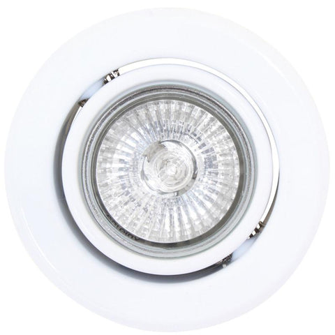 Downlight Dichronic GU 10 PAR 16 220V Swivel White