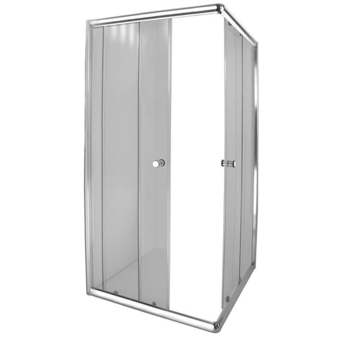 Aqua Lux Shower Door - Chrome
