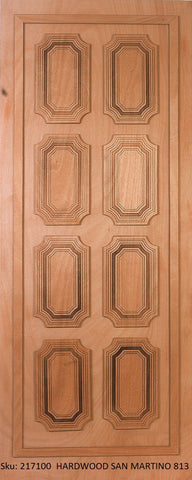 Wooden Door Hardwood San Martino