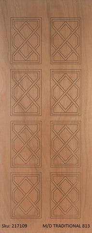 Wooden Door Medium Duty Traditional