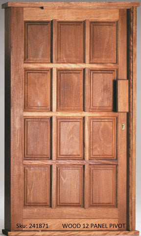 Wooden Door Pivot Set 12 Panel