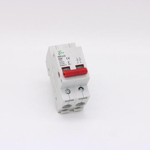 Isolator 63Amp Din Rail