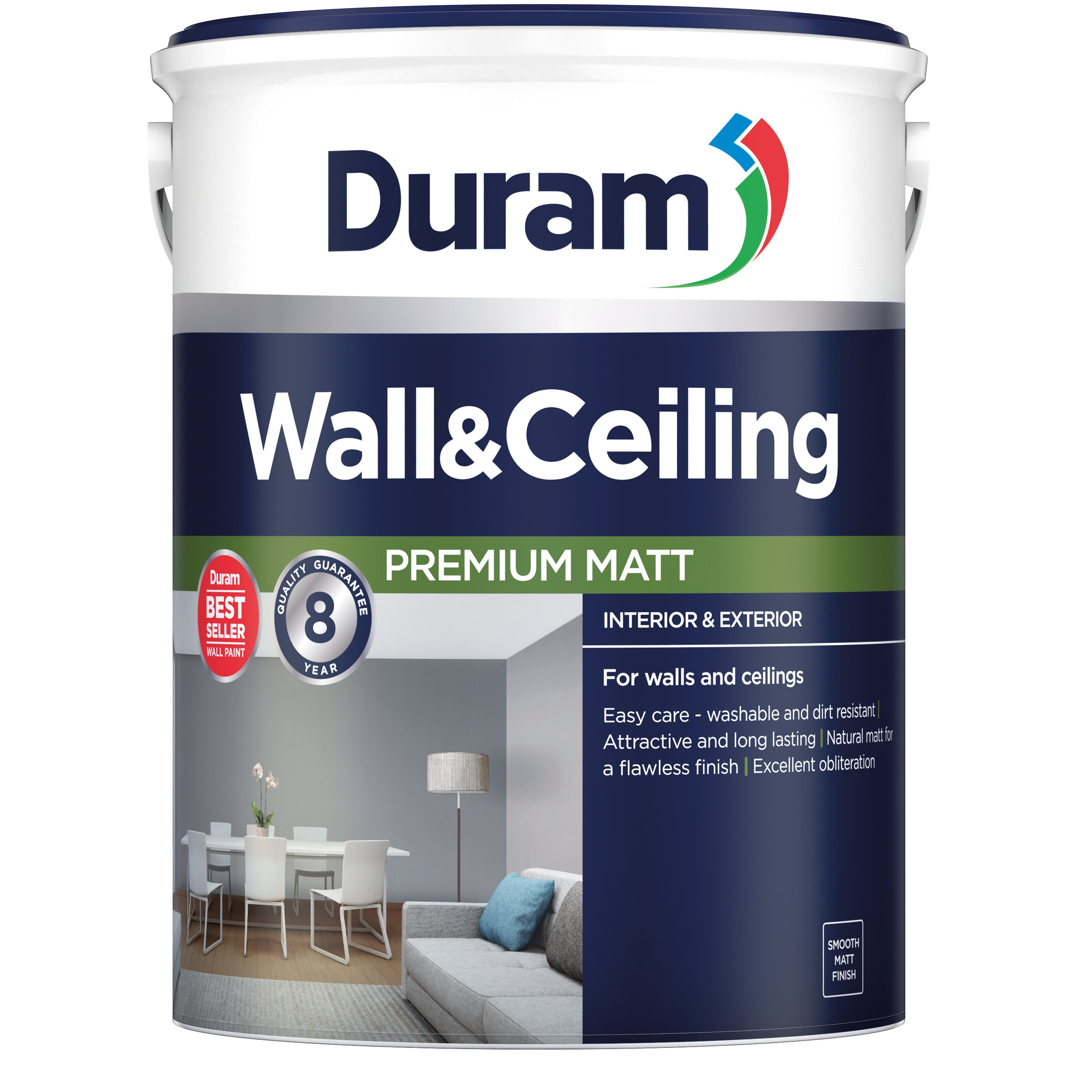 Duram Wall Amp Ceiling Acrylic Paint Pva Cashbuild