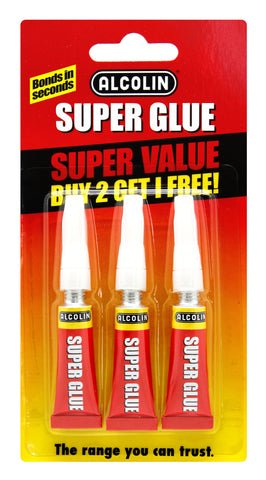 Alcolin Super Glue Value Pack