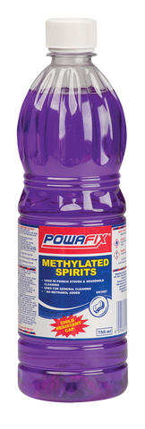 Powafix Methylated Spirits 750ml