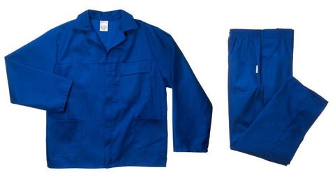 Poly Cotton Conti Suit Royal Blue