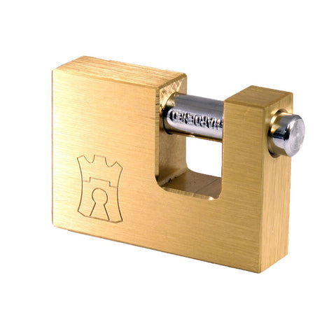Padlock Fort Knox Insurance Plated Brass