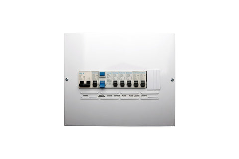 Distribution Board PVC Surface Mount Pre-Populated Din Rail Box