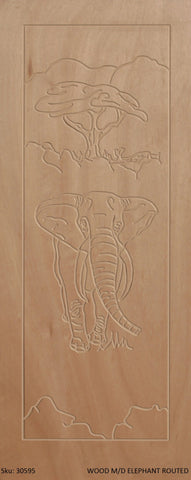 Wooden Door Medium Duty Elephant