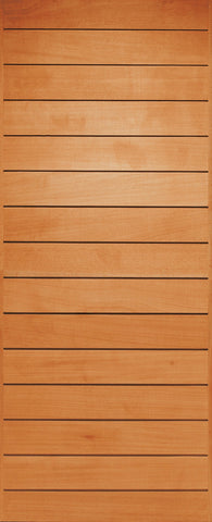 Wooden Door Wide Groove