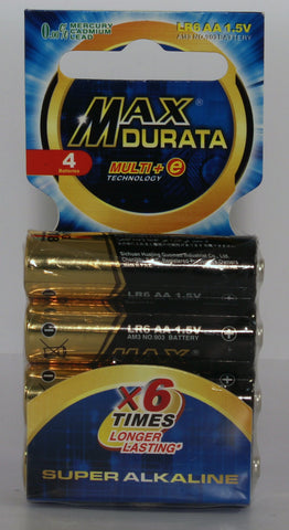 Batteries Super Alkaline Gold
