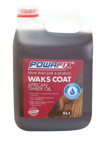 Powafix Wakscoat Timber Oil 5L