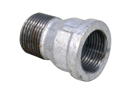 Galvanised Socket Male to Female 1/2