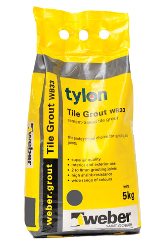 Tylon Wall & Floor Grout 5kg