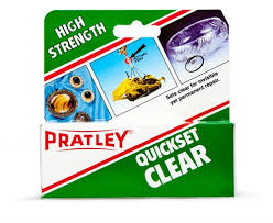 Pratley Glue Quickset Clear 40ml