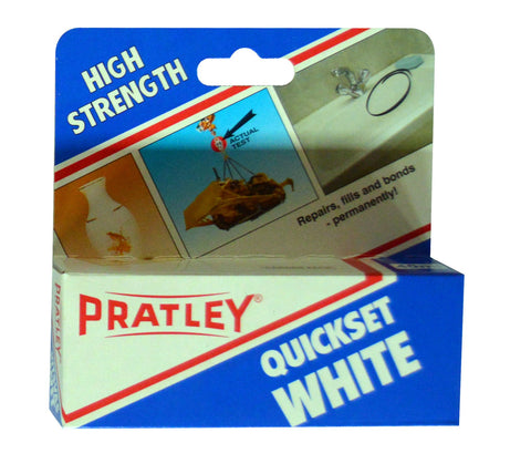 Pratley Glue Quickset White 40ml