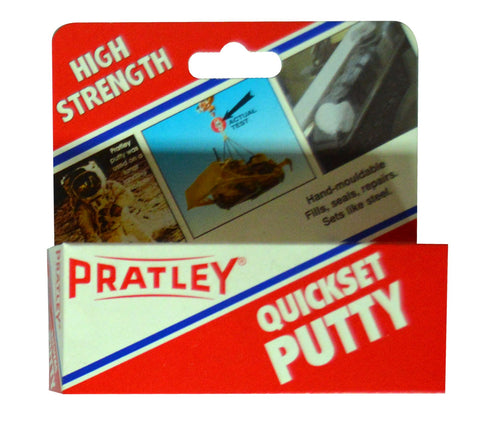 Pratley Putty Quickset White 125g