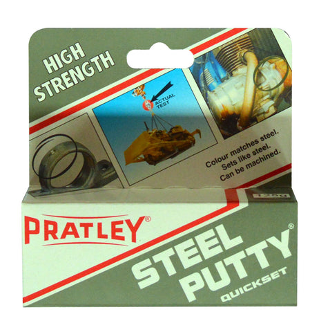Pratley Steel Putty 125g