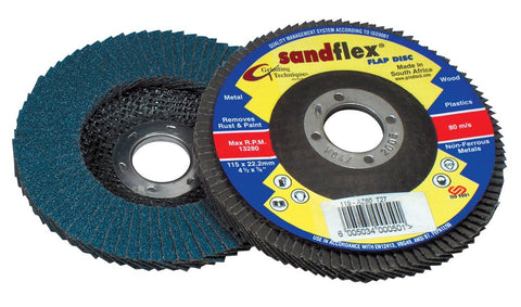 Sand flex Flap Disc