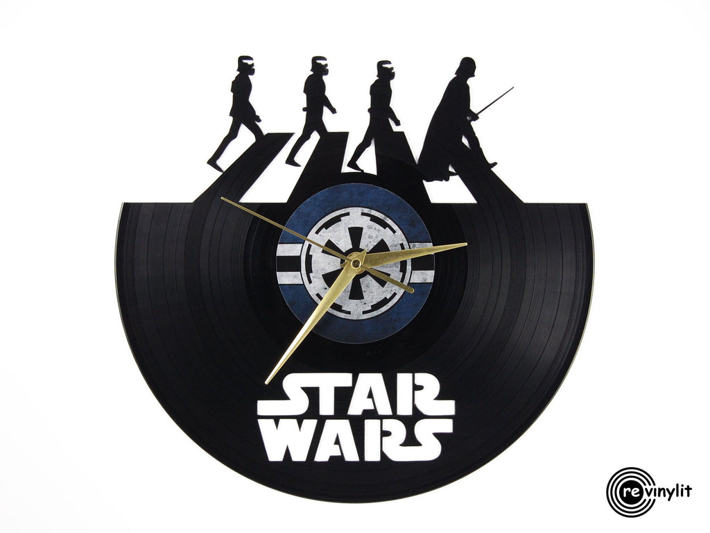 Star Wars Darth Vader vinyl clock