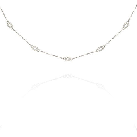Airla Necklace Silver