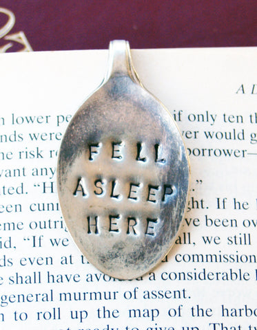 TEASPOON BOOKMARK