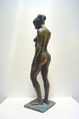 Angela Standing Lady Sculpture
