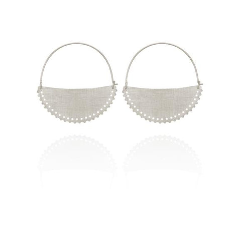 Klio Earrings Small - Silver