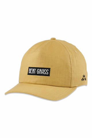 Birds_Of_Condor_Bent_Grass_Hemp_Cap_Tan_Yellow_Golfer_Hat