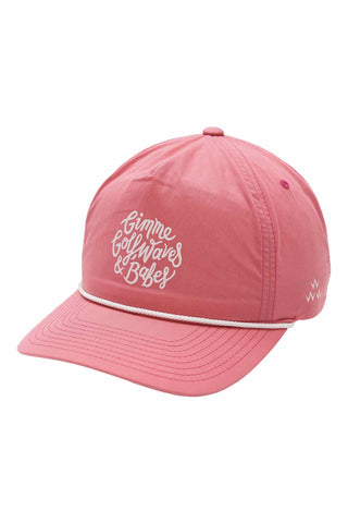 Golf Waves & Babes Cap - Pink