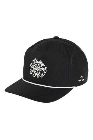 Golf Waves & Babes Cap - Black