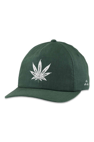 Birds_Of_Condor_Green_Golf_Cap_Shot_Tracer_100%_Hemp_Cap