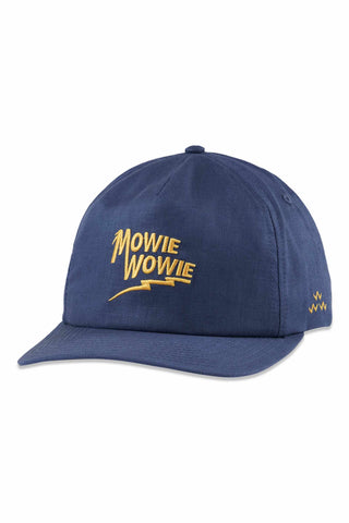 Birds_Of_Condor_Mowie_Wowie_100%_Hemp_Cap_Mens_Golf_Hat_Blue