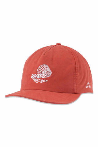 Birds_Of_Condor_Ranger_Soft_Peak_Golf_Cap_Red