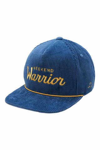 Birds_Of_Condor_Weekend_Warrior_Snapback_Cap_Deep_Blue_Corduroy
