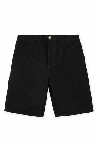 Carhartt_Organic_Cotton_Knee_Single_Short_Black_Rinsed