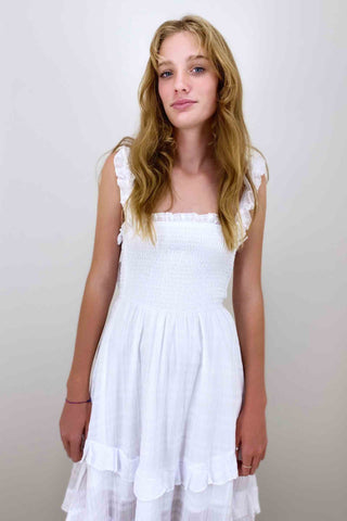 Indikah_IDKA_Midi_Dress_White