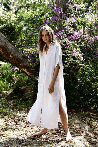 Kehoe_Linen_Valentino_Dress_White