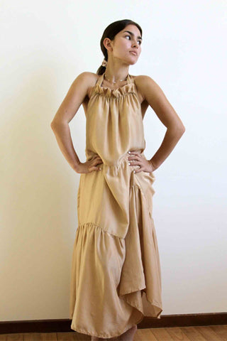 Lee_+_Percy_Kate_Dress_Gold_Silk
