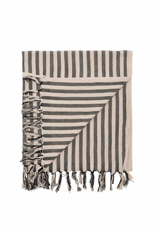 Mayde_Palm_Cove_Towels_Black_Stripe