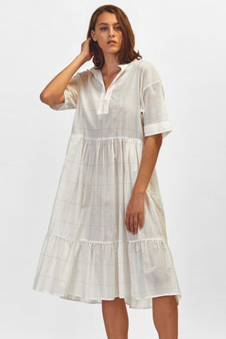 Morrison_Designer_Gemima_Dress_White_Check_Australia